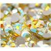 Flat back rhinestone crystal stone wholesale SS20 citrine ab
