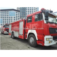 Year 2010-2012 used CNHTC STYRE fire truck second hand CNHTC STYRE fire engine used fire truck sale