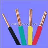 pvc insulated electrical wire and cable for house and building