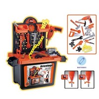 Bricolage toys set with electrical toys drill