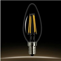 Hot Edison Filament Dimmable LED Candle Lamp 2W 4W E14 E12