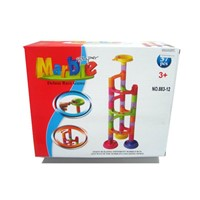 Marble run ball track blocks toys 37pcs