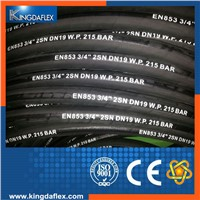 Oil Resistant Flexible High Pressure Hydraulic Rubber hose