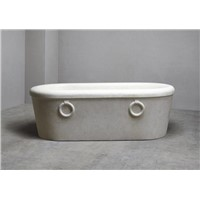 Beige Marble Bathtub,Stone Bathtub,Galala Marble Bathtub