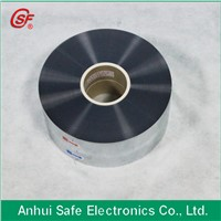 Customized AL/ZN alloy MPET 5micron capacitor film