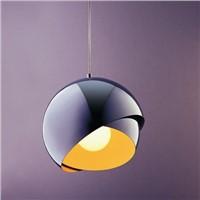 round polish chrome elegent design modern chandiler light