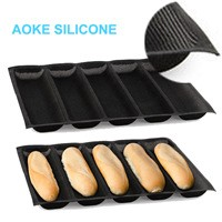 Silicone fiberglass bread mold loaf pan bread baking form