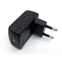 Wall Mount Power Adapters 5V 1A USB Charger 5W Cell Phone Charger with FCC KC ROHS CE