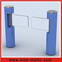 Wholesale price automatic toughened glass swing barrier