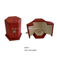 brown wooden perfume box(C0010)