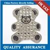 China Supplier glass stone rhinestone patches,hot fix glass stone rhinestone patches