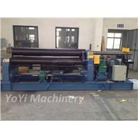 w11-40*2000 three roller heavy duty plate rolling machine