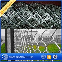 alibaba express  galvanized pvc coated chain link fence