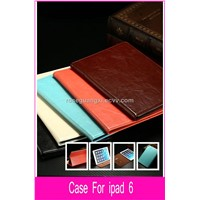 B023 Hot Sale ipad 6 Leather Case ipad Genuine Leather Case For ipad 6 ipad PU Leather Case