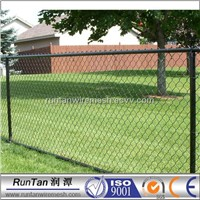 used PVC coated chain link fence for sale