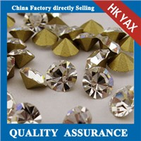 China A quality Crystal pointed back rhinestones,China supplier rhinestones pointed back