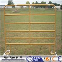 ISO9001 anping factory high quality galvanized stockyard rail