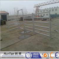 galvanized horse corrals with panels /portableTexas gate cattle fence/pasture panel