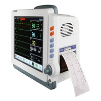 TFT touch screen patient monitor