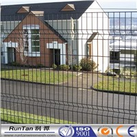 3d curved welded fence/ decorative welded garden fence