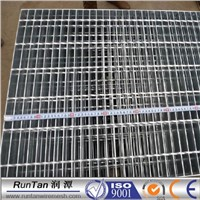 welded steel bar grating/flooring steel grating/platform galvanized steel grating