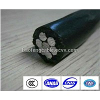 low voltage XLPE insulated overhead ABC cable