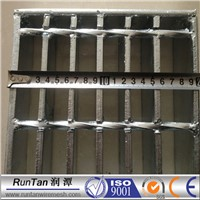 hot dip galvanized steel grating / serrated steel grating