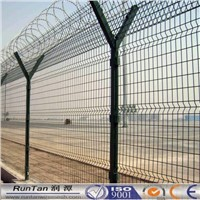 50x200 PVC Coated Curved Wire Mesh Fence for sale