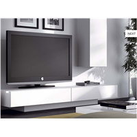 High Gloss TV Stand with drawers