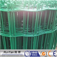 PVC Coated Green Welded Mesh Panel