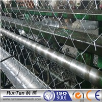 3.7mm pvc coated chain link fence, decorative chain link fence