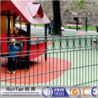 double wire fencing for garden/ playground fence