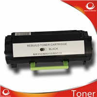 Compatible laser toner cartridge for lexmark mx310/mx410/mx510/mx610