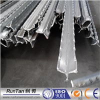 bitumen coated or galvanized Israel star picket, Israel y post