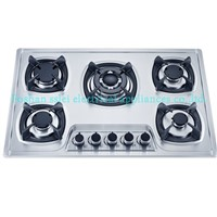 Stainless Steel Built-in 5 Burners Gas Cooker(8155S1)