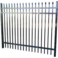 iron fence / steel fence / metal fence