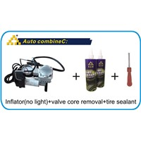 tire sealer tire sealant core removal tire inflator tire repair kits