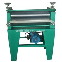 Car license plate roll coating machine