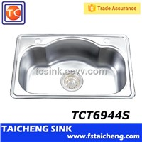 Shunde Taicheng Sinks Stainless Steel TCT6944S Used Kitchen Equipment