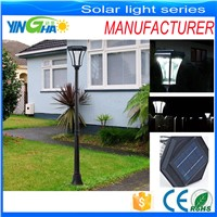 good quality solar post lamp