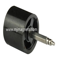 plastic injeciton molded NdFeB magnet for motors