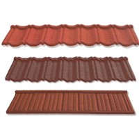 stone coated metal roof tile/roofing materials/building material