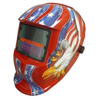 Auto darkening welding helmet with different  shell and auto filter, OEM customized