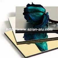 Colorful Mirror Aluminum composite Panel PVDF color aluminum coated sheet