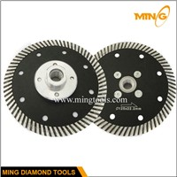 Dry  cutting turbo saw blade