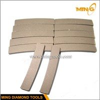 Smooth Cutting Diamond Marble Cutting Segment
