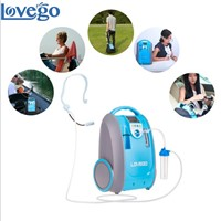Portable oxygen concentrator with battery Lovego