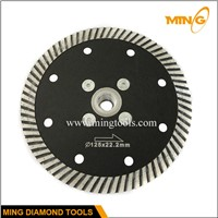 Turbo wave cutting blade