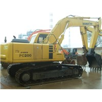 Used Komatsu PC 200-6 Excavator