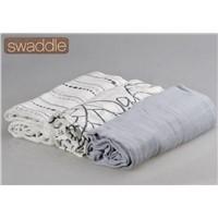 """Baby Muslin Swaddle Blanket 47""""x47"""" Muslin Wrap"""